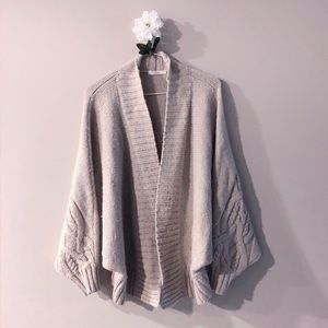Sweaters - CHUNKY KNIT CARDIGAN